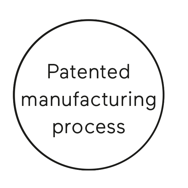 Patented manufacturing process
